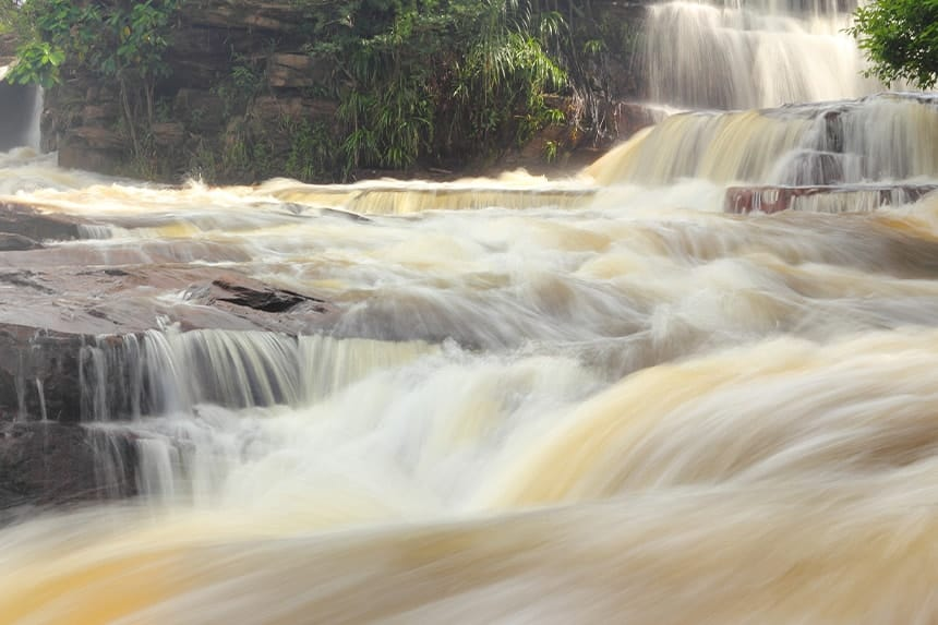 Waterfall & Sihanoukville City Tour